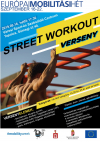 Street workout verseny